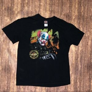 Harley Davidson Clown Tee